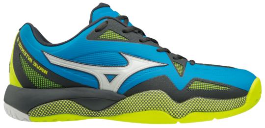 Męskie buty tenisowe Mizuno Wave Intense Tour 4 AC - diva blue/white/dark shadow