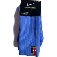 Skarpety tenisowe Nike Multiplier Crew 2PR Cushion - 2 pary/blue