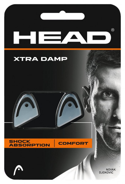 Wibrastopy Head Xtra Damp - white/black