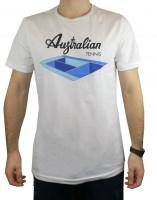 Muška majica Australian Jersey T-Shirt with Print - bianco/altro colore
