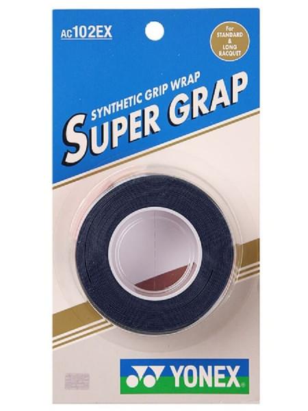 Liimlindid ülemähkimiseks Yonex Super Grap 3P - navy blue