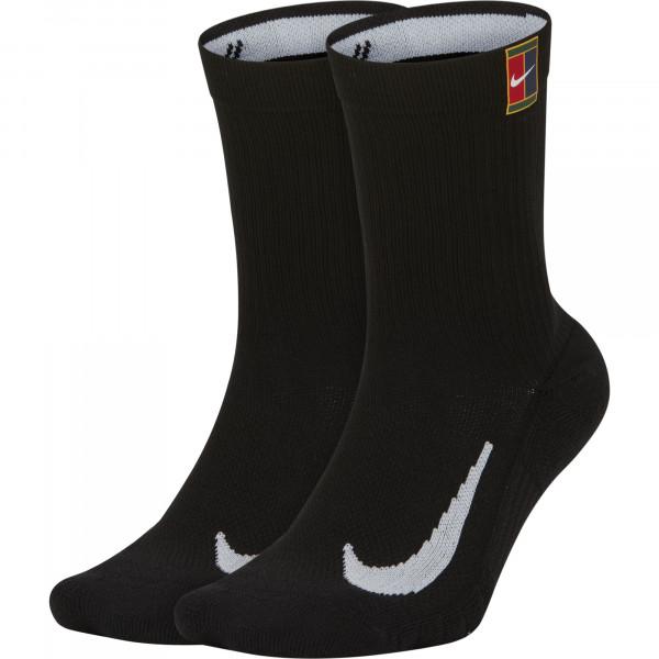 Skarpety tenisowe Nike Multiplier Crew 2PR Cushion - 2 pary/black/black