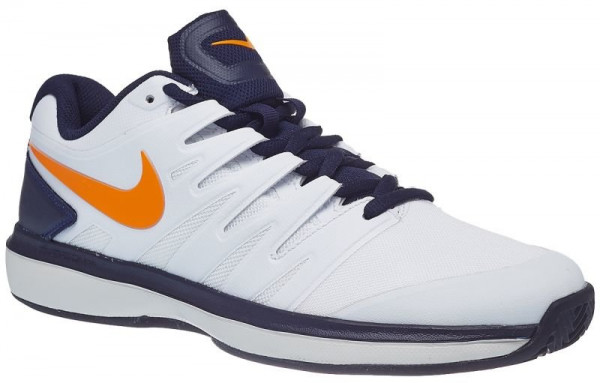 Nike Air Zoom Prestige Clay JR - white/orange peel