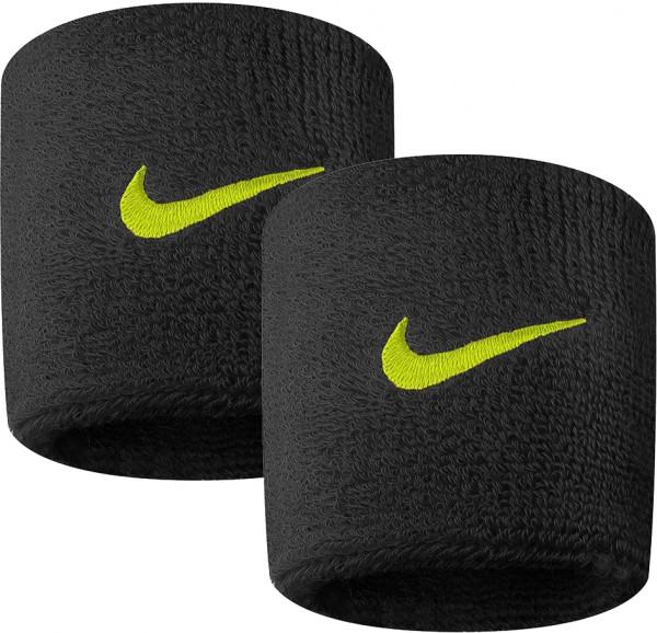 Nike Swoosh Wristbands - black/volt
