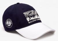 Teniso kepurė Lacoste Roland Garros Edition Printed Cap - navy/white