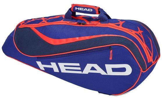 Tenis torba Head Junior Combi Rebel - blue/orange