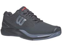 Męskie buty tenisowe Wilson Rush Pro 3.0 Clay - ebony/black/infrared