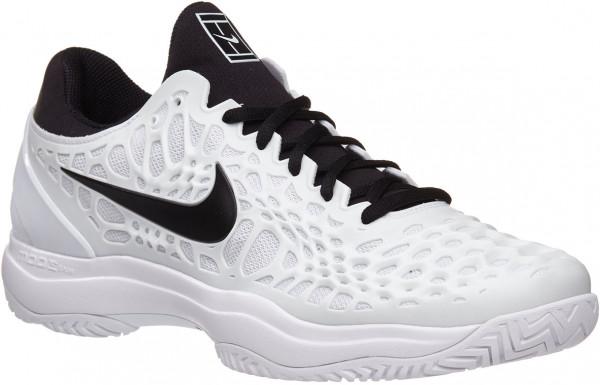 9b642b2bca775 Męskie buty tenisowe Nike Air Zoom Cage 3 HC - white black