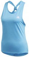 Damski top tenisowy Adidas Club Tie-Back Tank Top Women - fresh splash/matte silver
