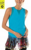 Damski top tenisowy Lucky in Love Luv Chill Out Tank Women - breeze