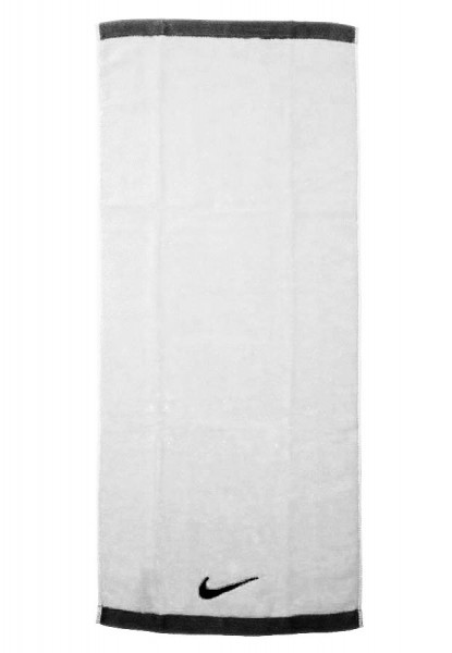 Nike Fundamental Towel Medium - white/black