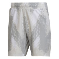 Meeste tennisešortsid Adidas Primeblue 7inch Pinted Shorts - white/grey one
