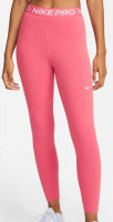 Leginsy Nike Pro 365 Tight 7/8 Hi Rise W - archaeo pink/white
