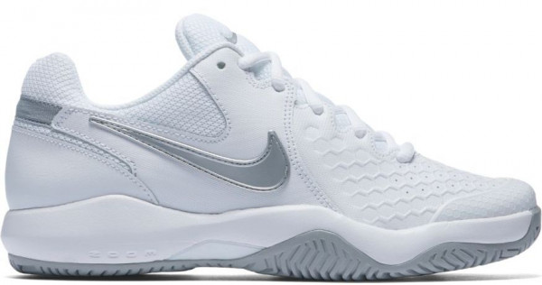 Nike WMNS Air Zoom Resistance - white/metallic silver/wolf grey