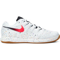 Męskie buty tenisowe Nike Air Zoom Vapor X - white/laser crimson