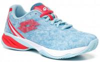 Ženska obuća za padel Lotto Superrapida 200 PRT W - clear water/calypso pink/mosaic blue