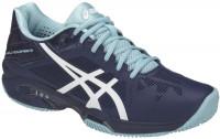 Damskie buty tenisowe Asics Gel-Solution Speed 3 Clay - indigo blue/white/porcelain blue