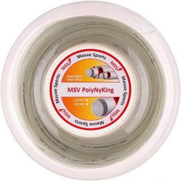Naciąg tenisowy MSV PolyNyKing (200 m) - natural