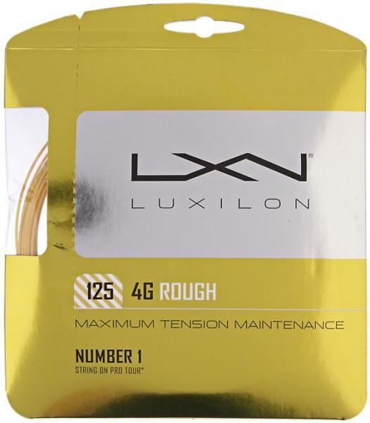 Teniska žica Luxilon 4G Rough (12.2 m)