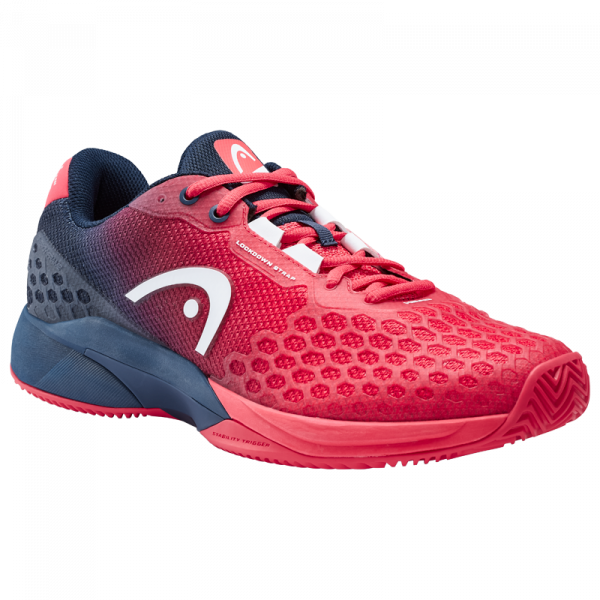 Męskie buty tenisowe Head Revolt Pro 3.0 Clay Men - red/dark blue