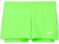 Nike Court Dri-Fit Victory Short G - lime glow/black