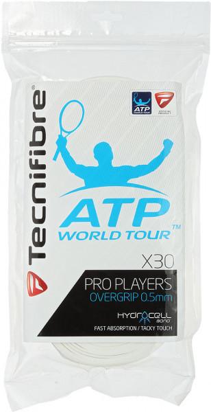Owijki tenisowe Tecnifibre Pro Player's (30 szt.) - white