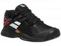Juniorskie buty tenisowe Babolat Propulse All Court Junior - black/white