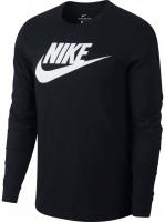 Męski T-Shirt tenisowy Nike LS Icon Tee Futura M - black