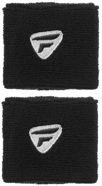 Tecnifibre Wristband (2 szt.) - black/white