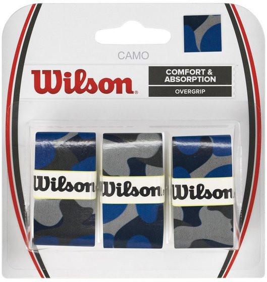 Tenisa overgripu Wilson Camo Overgrip - blue