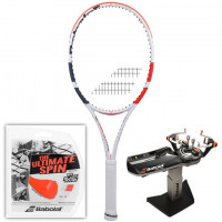 Rakieta tenisowa Babolat Pure Strike 18/20 3gen.+ naciąg RPM Blast Rough + usługa serwisowa