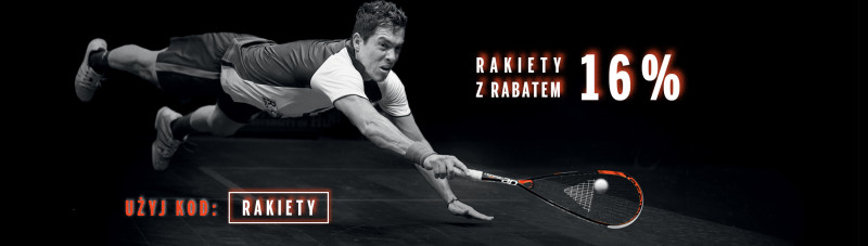 Rakiety do squasha z rabatem 16%