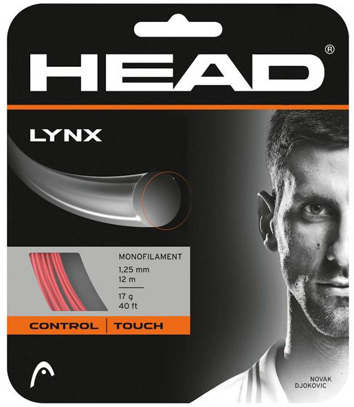 Teniska žica Head LYNX (12 m) - red