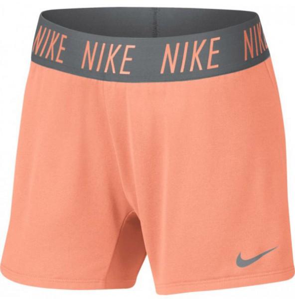 Šorti meitenēm Nike Dry Trophy Short - crimson pulse/cool grey