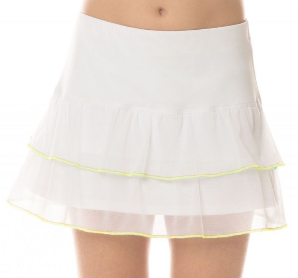 Tenisa svārki meitenēm Lucky in Love Core Flippy Mesh Skirt Girls - white