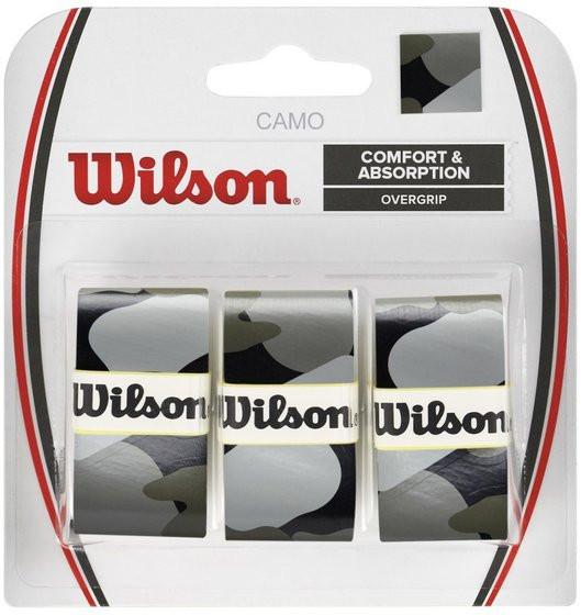 Owijki tenisowe Wilson Camo Overgrip - black