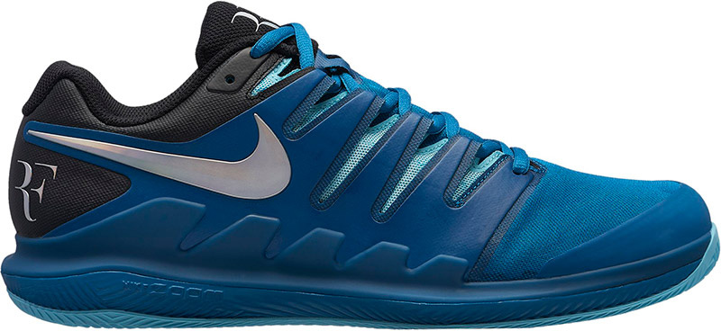 Nike Air Zoom Vapor X Clay - green abyss/multi-color