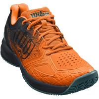 Męskie buty tenisowe Wilson Kaos Comp 2.0 - orange tiger/black/north atlantic