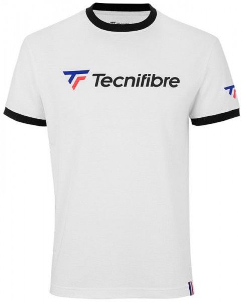 Męski T-Shirt Tecnifibre Cotton Tee Club - white