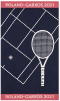 Ręcznik tenisowy Roland Garros Joueur 21 Plage DP - marine (plażowy)