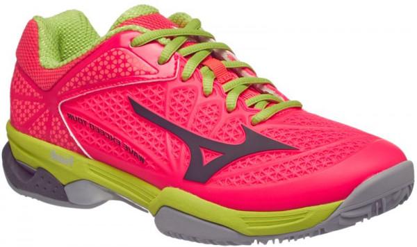 Sieviešu tenisa apavi Mizuno Wave Exceed Tour 2 (W) CC - diva pink/periscope/bright lime green