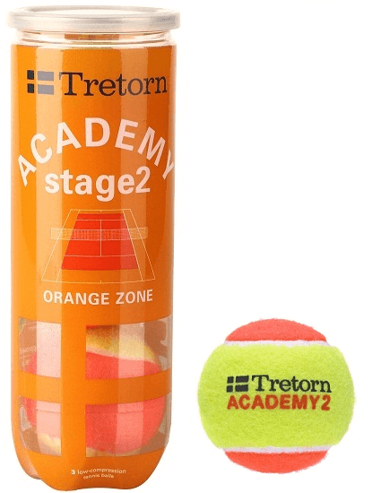 Tretorn Academy Orange - 3 szt.