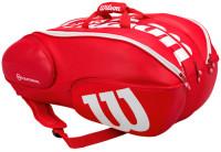 Torba tenisowa Wilson Vancouver Pro Staff 15 Pack - red/white