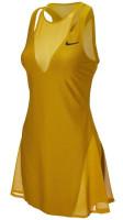 Damska sukienka tenisowa Nike Court Women Maria Dress New York - ohre/black