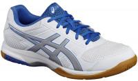 Asics Gel-Rocket 8 - white/silver/classic blue