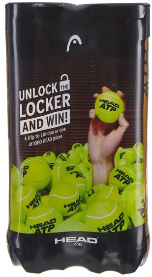 Head ATP Gold Unlock the Locker - 4 szt. x 2 puszki