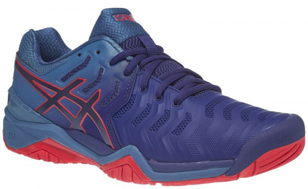 Męskie buty tenisowe Asics Gel-Resolution 7 - blue print/blue print