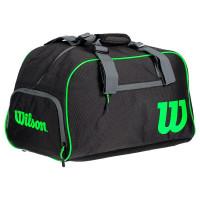 Tenis torba Wilson Small Duffel Blade - black/grey/green
