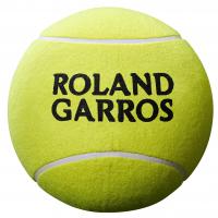 Piłka na autografy Wilson Roland Garros Jumbo Ball - yellow