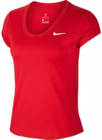 Nike Court Dry Top SS W - gym red/gym red/white